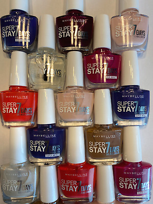 £3.25 • Buy MAYBELLINE Forever Strong Superstay 7Day GEL NAIL COLOUR - CHOOSE  SHADE