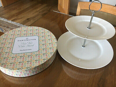 Dartington Two Tier Cake Stand Tiered Cake Stand - Boxed • 20£