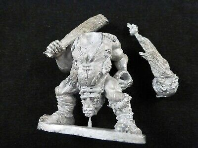 Grenadier Models Fantasy Warriors : Metal Barbarian Giant With Large Club • 11.99£