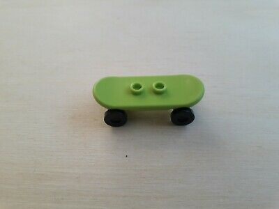 Lego Skateboard With Wheels Part No: 42511 42511c01 Lime X 1 • 1.75£