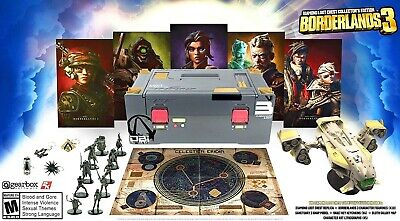 Borderlands 3 Diamond Loot Chest Collectors Edition Brand New & Sealed • 170£