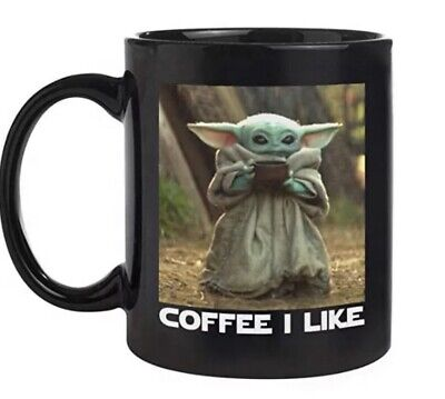 $16.75 • Buy Funny Mug - Mug Baby Yoda Coffee I Like 11oz