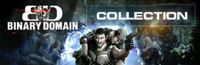 Binary Domain Collection PC *STEAM CD-KEY* 🔑🕹🎮 • 3.89£