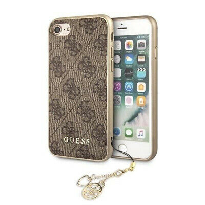 £20.99 • Buy Guess 4G Charms Collection Smartphone Hard Case For IPhone 7 Or 8 - Brown