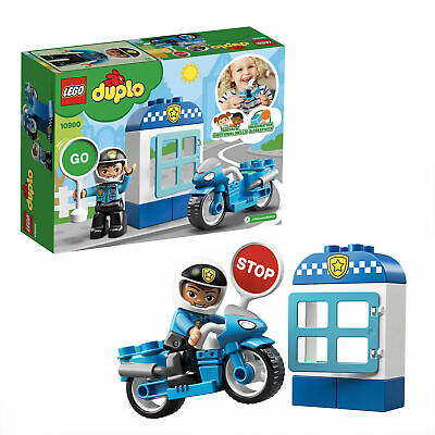 Lego Duplo POLICE BIKE Building Set 10900 Brand New And Sealed • 4.50£