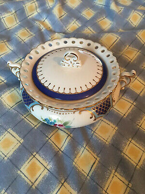 The Regal Bone China Collection Small Lidded Decorative Dish • 14.95£