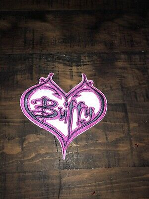 $9 • Buy Buffy The Vampire Slayer Embroidered Patch Free Ship Heart