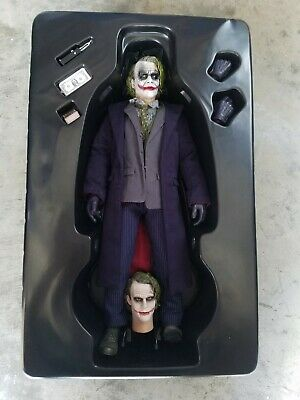 $ CDN528.93 • Buy Custom Portrait Hot Toys MMS 68 Batman Dark Knight TDK Joker Heath Ledger