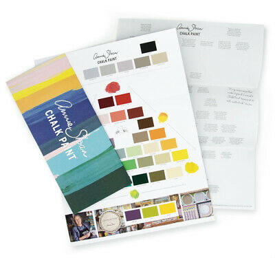 Annie Sloan Chalk Paint Colour Card • 1.99£
