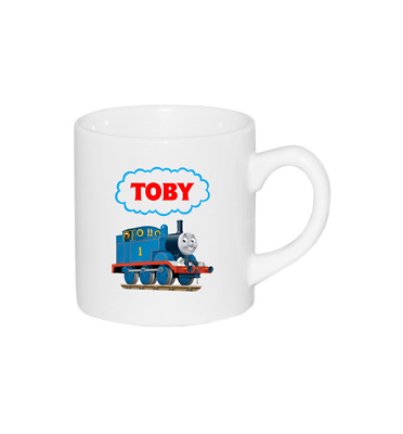 Personalised 6oz Thomas The Tank Engine Mug By Forever Personal Designs ® • 5.99£