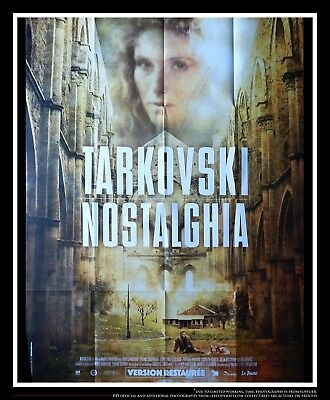$339 • Buy NOSTALGHIA B Andreï Tarkovski 4x6 Ft French Grande Movie Poster Rerelease 2017