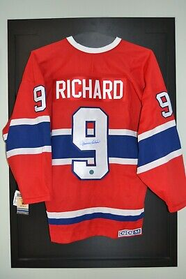 $ CDN1049.99 • Buy Maurice Richard Montreal Canadiens Signed CCM Vintage Hockey Jersey