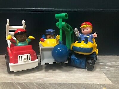 Fisher Price Little People Collection Of Figures And Vehicles • 3.10£