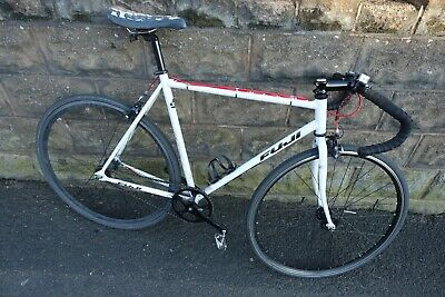 View Details FUJI Track Classic Fixed Fixie Pista Bicycle Road Urban Size 56cm Medium Large • 399.00£