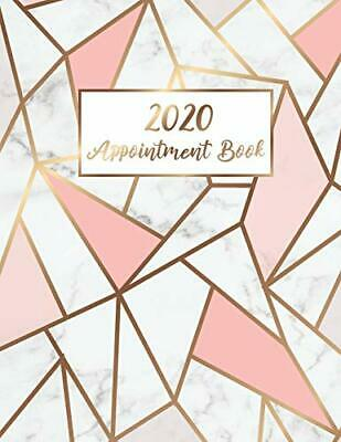 2020 Appointment Book: Marble Line Gold By Tim Star Beautiful New Paperback Book • 7.38£