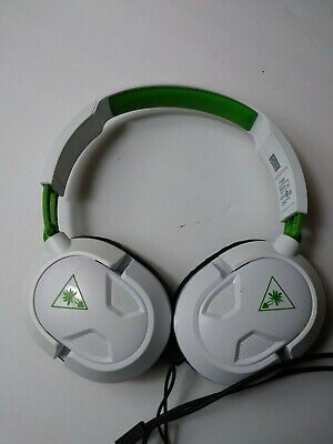 $8.99 • Buy Turtle Beach RECON 50X White Headband Headsets For Microsoft Xbox One For Parts