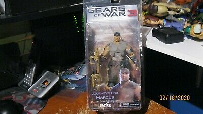 $25 • Buy Gears Of War 3 Series 3 Journey's End Marcus With Gold Retro Lancer 7 Inch Acti