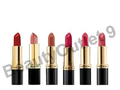 Revlon Super Lustrous Lipstick - CHOOSE YOUR FROM OVER 44 SHADES- SEALED  • 3.95£
