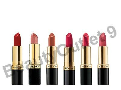 £3.75 • Buy Revlon Super Lustrous Lipstick - CHOOSE YOUR FROM OVER 60 SHADES- SEALED