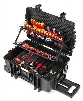 £1200 • Buy WIHA Electricians Tool Kit Box VDE Screwdrivers Pliers Competence XXL2 42069