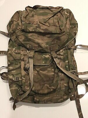 Genuine British Army Issue MTP Long Back Bergen/Rucksack!Very Good Condition! • 34.95£