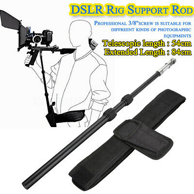 £33.10 • Buy Rig Support Rod Belt Fit Shoulder Mount For Video Camcorder Camera DV/DSLR