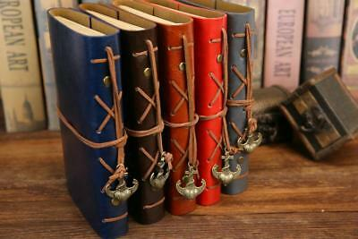 AU17.23 • Buy Vintage Diary Notebook From Faux Leather B5 A5 A6 Size Spiral Journal Book
