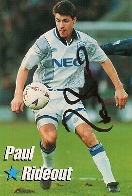 £3.99 • Buy Paul Rideout (Everton) Signed Picture