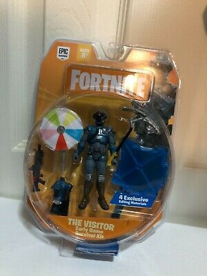 $ CDN13.54 • Buy Fortnight Figure - The Visitor - Early Game Survival Kit - New