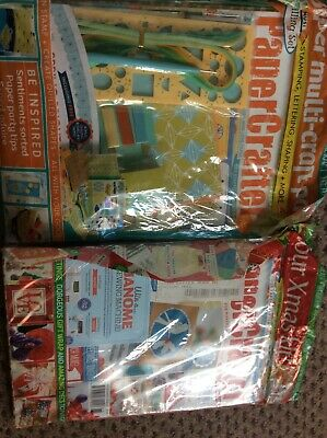 Making Cards & Papercraft Magazine Papers & Parchment Mag X2 New • 10£