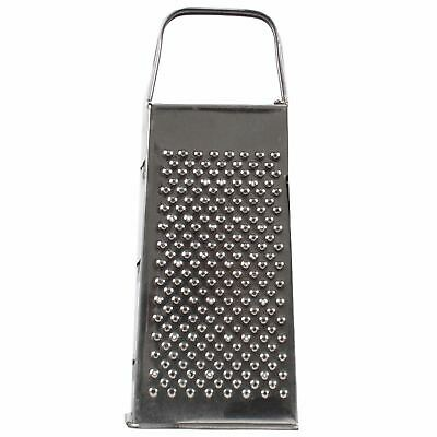 £4.99 • Buy Four Sided Stainless Steel Grater For Cheese/Vegetables Dishwasher Safe