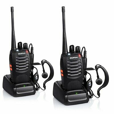 $ CDN81.72 • Buy Long Range Handheld 16 Channel BF-888S Walkie Talkies W/ 2-Way Radio (2-Pack)