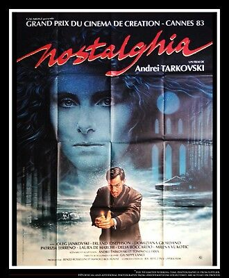$229 • Buy NOSTALGHIA A Andreï Tarkovski 4x6 Ft French Grande Movie Poster Original 1983
