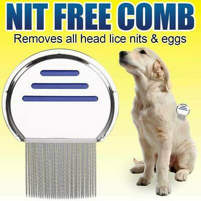 Lice Comb For Head Lice Nit & Egg Removal With Long Fine Teeth Brush Kids &Women • 2.09£