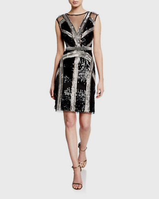 $98.99 • Buy Aidan Mattox Embellished Cocktail Dress MSRP $395 Size 12 # 20A 199 NEW