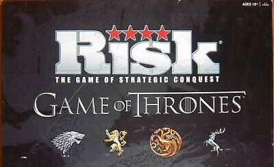 $9.99 • Buy Risk: Game Of Thrones Deluxe Edition, Over 650 Game Pieces,2 Maps,Complete