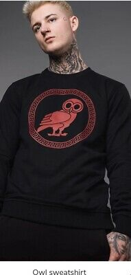 Black Owl Jumper  • 8.50£