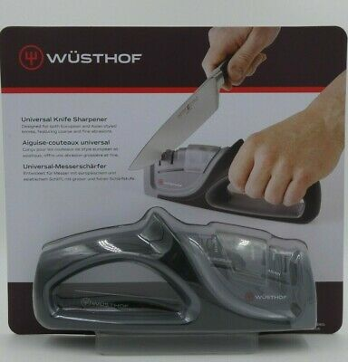 $19.98 • Buy Wusthof Sharpener 4-Stage Hand Held For Standard & Asian Style Knives BRAND NEW