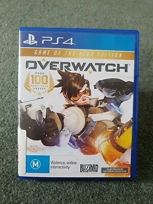 AU11.95 • Buy Overwatch Origins Edition PS4 Game Sony PlayStation 4 #30 Day Warranty#