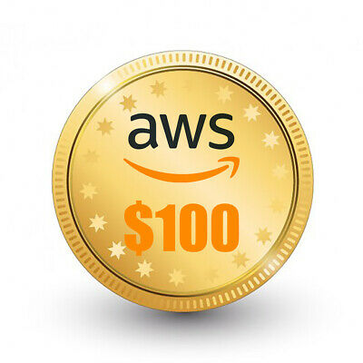 $ CDN58.21 • Buy AWS $100 Amazon Web Services Lightsail EC2 VPS Promocode Credit Code Instantly