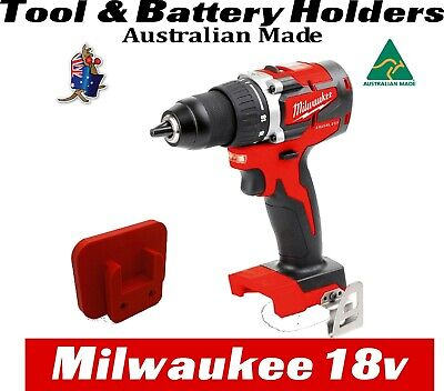 AU27 • Buy Milwaukee M18 Tool & Battery Holder Mount Bracket Storage 18v 18 V Drill Impact
