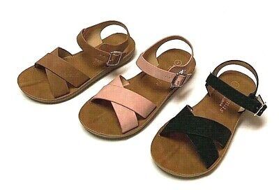 $9.15 • Buy Toddler Little Kid Girl Soft Sole Crib Outdoor Shoes Summer Sandals Size 10-4