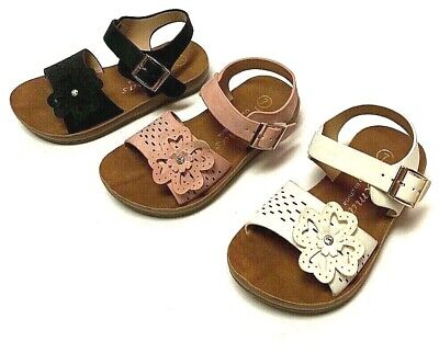 $9.15 • Buy Newborn Baby Girl Soft Sole Crib Shoes Infant Toddler Summer Sandals Size 4-9