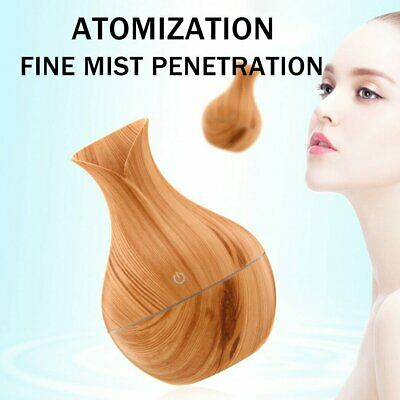 AU15.99 • Buy Led Essential Oil Humidifier Aromatherapy Aroma Diffuser Air Purifier Ultrasonic