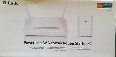AU55 • Buy D-link DHP-1321 PowerLine Network Router Starter Kit