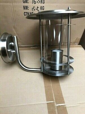 Chrome Outside Lantern Light Fitting • 11.50£