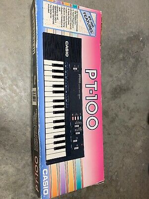 $24.99 • Buy CASIO PT-100 32-key Electronic Synthesizer Mini Keyboard