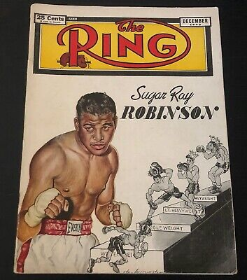 $39.99 • Buy The Ring Magazine (December, 1949) Sugar Ray Robinson