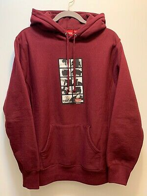 $ CDN193.81 • Buy Supreme Sumo Hoodie FW16 Medium Maroon Box Logo 100% Authentic