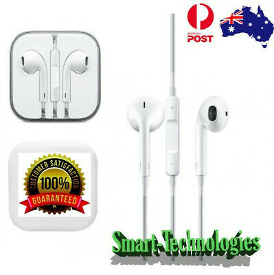AU9.31 • Buy Earphone Headphone To Suit Apple IPhone4/5/6 IPod IPad Air With Mic 3.5mm Jack